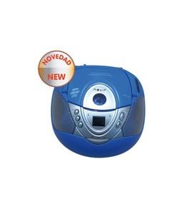 RADIOCD NVR474U USB MP3 AZUL OFERTA