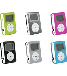MP3 DEDALOIII4GBBK 4GB NEGRO